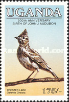 [Birds - The 200th Anniversary of the Birth of John J. Audubon , 1785-1851, Typ JQ]