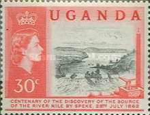 [The 100th Anniversary of Speke's Discovery of Source of Nile, Typ K]