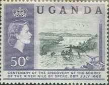 [The 100th Anniversary of Speke's Discovery of Source of Nile, Typ K1]