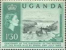 [The 100th Anniversary of Speke's Discovery of Source of Nile, Typ K2]