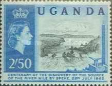 [The 100th Anniversary of Speke's Discovery of Source of Nile, Typ K3]