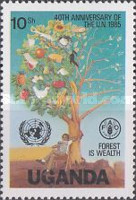 [The 40th Anniversary of United Nations, Typ KC]