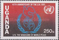 [The 40th Anniversary of United Nations, Typ KF]