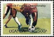 [Football World Cup - Mexico 1986, Typ KL]