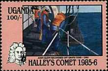 [Appearance of Halley's Comet, Typ KO]