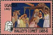 [Appearance of Halley's Comet, Typ KP]