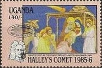 [Appearance of Halley's Comet, Typ KP1]
