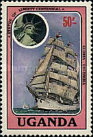 [The 100th Anniversary of Statue of Liberty - Cadet Sailing Ships, Typ LC]