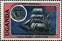 [The 100th Anniversary of Statue of Liberty - Cadet Sailing Ships, Typ LF]