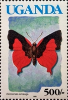 [Issues of 1989 with Blue Country Name - Butterflies, Typ TP1]