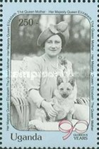 [The 90th Anniversary of the Birth of Queen Elizabeth the Queen Mother, 1900-2002, type VZ]