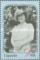 [The 90th Anniversary of the Birth of Queen Elizabeth the Queen Mother, 1900-2002, Typ WA]