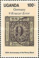 [The 150th Anniversary of the Penny Black, type WH]