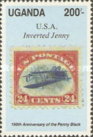 [The 150th Anniversary of the Penny Black, type WJ]