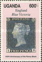 [The 150th Anniversary of the Penny Black, Typ WM]