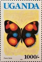 [Issues of 1989 with Blue Country Name - Butterflies, Typ XP3]