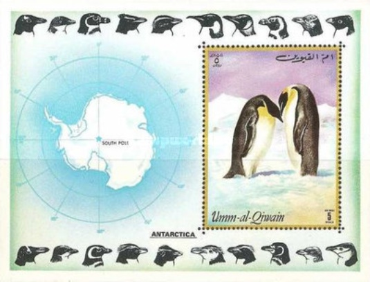 [Airmail - Antarctica - Penguins, тип ]