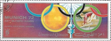 [Airmail - Olympic Games - Munich, Germany, тип AAI]