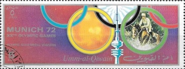 [Airmail - Olympic Games - Munich, Germany, тип AAW]
