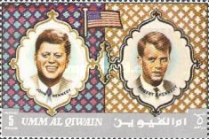 [John F. Kennedy and Robert F. Kennedy, тип RW]