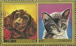 [Airmail - Dogs and Cats, тип YW]