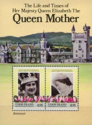 [The 85th Anniversary of the Birth of HRM Queen Elizabeth The Queen Mother, type ]