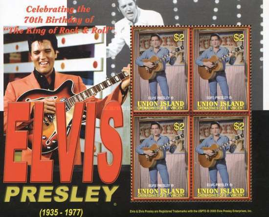 [The 70th Anniversary of the Birth of Elvis Presley, type ]