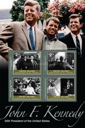 [The 50th Anniversary Election of John F. Kennedy, type ]