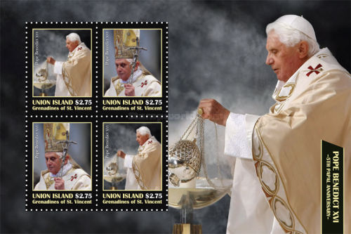 [The 5th Papal Anniversary of Pope Benedict XVI, type ]
