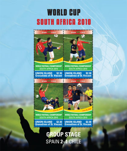 [Football World Cup, South Africa - Spain 2-1 Chile, type ]
