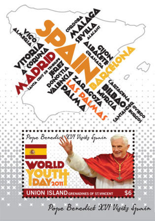 [World Youth Day - Pope Benedict XVI Visits Spain, type ]