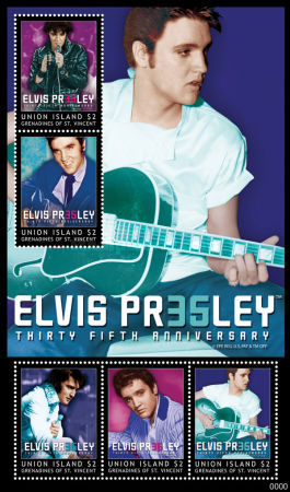 [The 35th Anniversary of the Death of Elvis Presley, 1935-1977, type ]