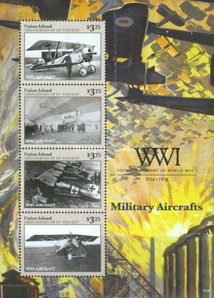 [The 100th Anniversary of the Beginning of World War I - Airplanes, type ]