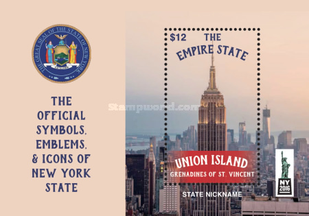 [World Stamp Show NY 2016 - New York, USA, type ]