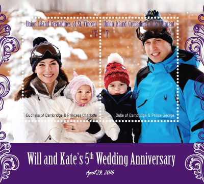 [The 5th Anniversary of the Wedding of William & Kate, type ]