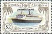 [Ships - St. Vincent And The Grenadines Postage Stamps Overprinted