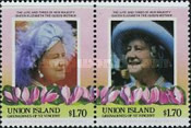 [The 85th Anniversary of the Birth of HRM Queen Elizabeth The Queen Mother, type EC]