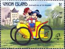 [The 200th Anniversary of the French Revolution; International Philatelic Exhibition PHILEXFRANCE '89 - Paris - Walt Disney Characters, type IL]