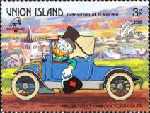 [The 200th Anniversary of the French Revolution; International Philatelic Exhibition PHILEXFRANCE '89 - Paris - Walt Disney Characters, type IN]