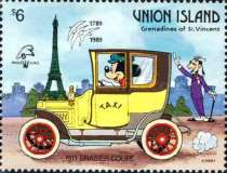 [The 200th Anniversary of the French Revolution; International Philatelic Exhibition PHILEXFRANCE '89 - Paris - Walt Disney Characters, type IS]