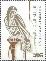 """[Falcon - Year """"2013"""" on Stamps, type AFU21]"""