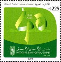 [The 40th Anniversary of the National Bank of Abu Dhabi, type AHG]