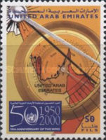 [The 50th Anniversary of World Meteorological Organization or WMO, type XS]