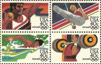 [Olympic Games - Los Angeles '84, USA, Typ ]