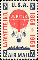 [The 100th Anniversary of Mail Balloon Jupiter, Typ AH]