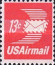 [Winged Airmail Envelope, Typ BB]