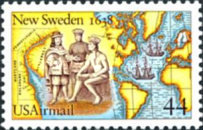 [The 350th Anniversary of the New Sweden Settlement, Typ CL]