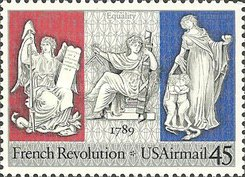 [The 200th Anniversary of the French  Revolution, Typ CO]