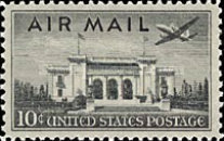 [New Airmail Stamps, type S]