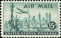 [New Airmail Stamps, type T]